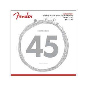 Fender Super 7250 Bass Strings 45-105