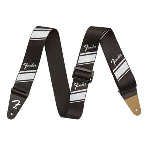 Fender 2'' Competition Stripe Strap Silver