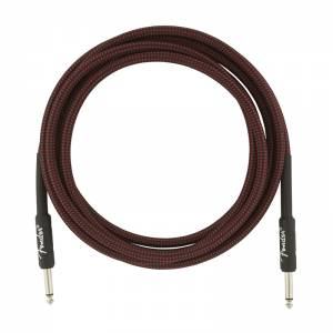 Fender Professional Series Instrument Cable 4,5m Red Tweed